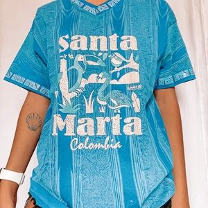 Santa Marta Columbia Tee Sz Medium